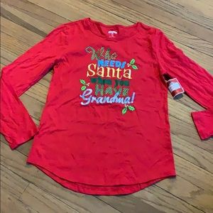 Holiday Time women's size S (4-6) top !new!